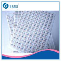 Wholesale Beer / Wine Security Seal Scratch Off Labels , Industrial Adhesive Labels from china suppliers