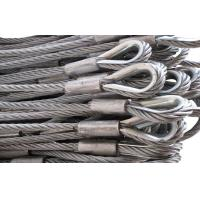 Wholesale 304 Stainless Steel Wire Rope Sling In Lifting Sling , 2mm to 60mm from china suppliers