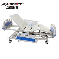 Quality ICU ABS Headboard Electric Hospital Bed Adjustable Multi Functions for sale