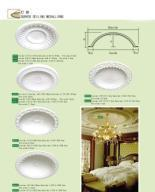 Quality Polyurethane curved ceiling moulding,ceiling for sale