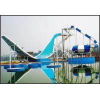Wholesale Water Park Equipment Wave Slide, 11m Height Fiberglass Water Slides for Outdoor Aqua Park from china suppliers