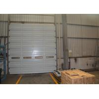 Wholesale Industrial single rust proof sheet Steel Overhead Doors , overhead sectional door from china suppliers