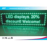 Wholesale Front Service Green LED Moving Message Display P10 Outdoor Full Color Led Display from china suppliers