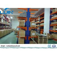 Wholesale Heavy Duty Cantilever Warehouse Racks , Adjustable Q235B Steel Cantilever Racking from china suppliers