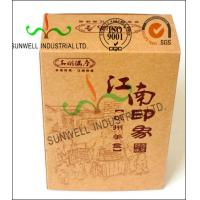 Wholesale Custom Printed Corrugated Food Packaging Boxes Eco Friendly Kraft Paper from china suppliers