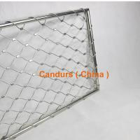 Buy cheap Stainless Steel Wire Rope Mesh Frame Panels For Railing Systems from wholesalers