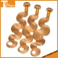 Wholesale 5A Honey Blonde Brazilian Hair Weave Body Wave Blonde Human Hair Weave from china suppliers