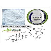 Buy cheap Healthy Dutasteride / Duagen / Avodart Raw Steroid Powder for Hair Loss Treatment CAS 164656-23-9 from wholesalers