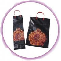 Wholesale Small Plastic Bags With Handles , Promotional Loop Handle Bags from china suppliers