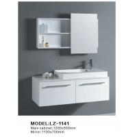 Wholesale high glossy painted bathoom vanity unit from china suppliers