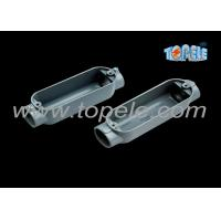 Buy cheap C Threaded Aluminum Rigid Conduit Body With Outlet Box Corrosion Resistant from wholesalers
