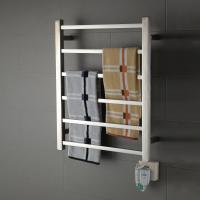 Wholesale 6 Bar square stainless steel wall mounted economical and practical safety heated towel rail from china suppliers