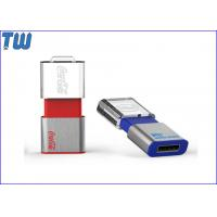 Buy cheap Mini Stick Memory Disk 4GB USB Drives Sliding Transparent Acrylic LOGO from wholesalers