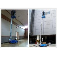 Wholesale Hydraulic Aerial One Man Lift 136 kg Rated Load With 8 Meter Platform Height from china suppliers