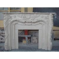 Wholesale Marble Carved Fireplaces Mantel (LY-084) from china suppliers