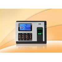 Wholesale Embedded fingerprint time attendance machine Clocking Systems with Check in / out from china suppliers