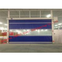 Wholesale Automatic Steel Industrial Garage Doors Lifting Up Roller Shutter Door PVC Surface from china suppliers