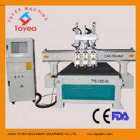 Wholesale Wood furniture cnc router machine with 3 pneumatic spindle tool changer 4x8 working table TYE-1325-3S from china suppliers