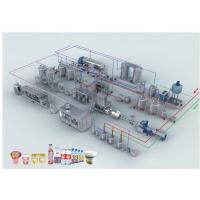 Wholesale dairy milk production line/equipment/machines Milk Factory , Milk Processing and Packaging Machine / Milk Production Lin from china suppliers