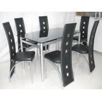 Wholesale Cool Rectangular Dining set Modern Dining Room Tables For 6 People from china suppliers