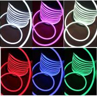 Wholesale DC24V RGB led neon flex SMD5050 full color changing Christmas decoration light 14*26mm from china suppliers