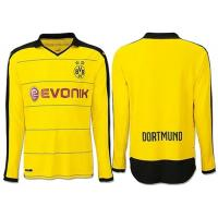 Wholesale Borussia Dortmund Long Sleeve Home Yellow Football Soccer Jersey Polo Wear from china suppliers