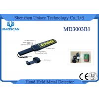 Wholesale Security Equipment Hand Held Metal Detector High Sensitivity for Stable Pin from china suppliers