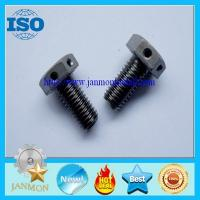 Buy cheap Special Hexagon bolts with holes,Bolt with hole, Bolt with Hole in Head ,Hex head bolts from wholesalers