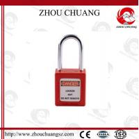 Wholesale Hot sales colorful 38mm Shackle Xenoy Safety Padlock with key system Lock from china suppliers