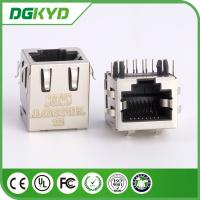 Wholesale Female shielded pcb mount rj45 keystone connector KRJ -5621S10P8CENL from china suppliers