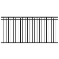 Wholesale Galvanized Iron Railing Iron fence panels Swimming Pool raiing from china suppliers