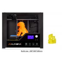 Wholesale High Resolution Office Desktop 3D Printer Black LED Light SD Card from china suppliers