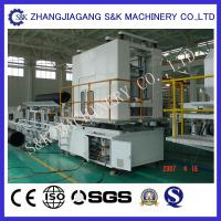 Double  Wall Pvc Corrugated Plastic Pipe Extrusion Line 15Kw Power