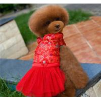 Wholesale Party Medium Dog Clothes dress from china suppliers