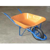 Wholesale wheelbarrow  wheel barrow wb6400 hand trolley garden tool cart dump rubber wheel from china suppliers