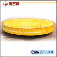 Wholesale Durabe Large Bearing Automated Turnplate Power Transport Carriage from china suppliers