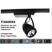 Wholesale Aluminum Housing CITIZEN LED Track Spotlights 350 deg Adjustable 2700k - 3000K from china suppliers
