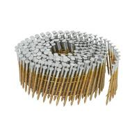 Wholesale Full Round Head Pallet Coil Nails Hot Dipped Galvanized Treatment 1-1/4-Inch x 0.092-Inch from china suppliers