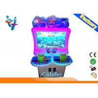 Wholesale new arrival Deluxe version coin operated fishing arcade simulator game machine electric fishing machine for sale from china suppliers