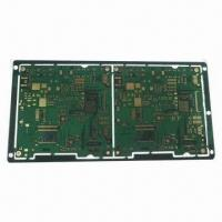 Wholesale 8-layer HDI PCB with 0.1/0.1mm Minimum Width/Spacing and ENIG Surface Finish from china suppliers