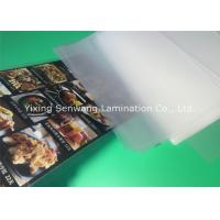 Wholesale Gloss A5 Laminated Pouches , Heat Seal Laminating Pouches 150 Micron Thickness from china suppliers