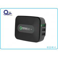 Quality 3 Port 25W Portable USB Wall Charger with QC 3.0 USB Quick Charger for iPhone for sale