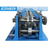 Wholesale C / Z / U Purlin Roll Forming Machine with 20 Stations for Structural Steel Fabrication from china suppliers