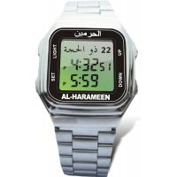 Buy cheap Azan time Gregorian or Hijri calendar stainless steel Islamic Prayer Watches, Stop Watch from wholesalers