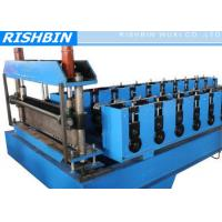 Wholesale 22KW Chain Drive Transmission COMFLOR Deck Roll Forming Machine with 24 - 28 Stations from china suppliers