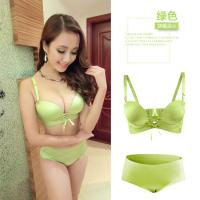Wholesale traditional cloth colorful Bra set with many colors and straps , less MOQ from china suppliers
