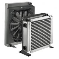 Wholesale Hydraulic Lubrication Aluminum Air Cooled Heat Exchanger with DC/AC Fan Driven from china suppliers
