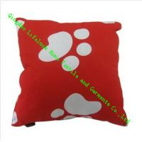 Wholesale Contemporary Square Throw Pillows With PP Cotton For Adult , Inflatable from china suppliers
