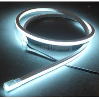 Buy cheap programmable rgbw 4 chip color changing led neon rope flexible strip 24v top-view square 17x17mm from wholesalers