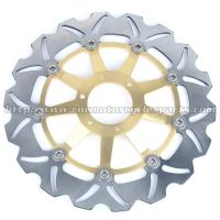 Wholesale Strong Sunstar Motorcycle Brake Rotors Light Weight With Outside Diameter 296mm from china suppliers